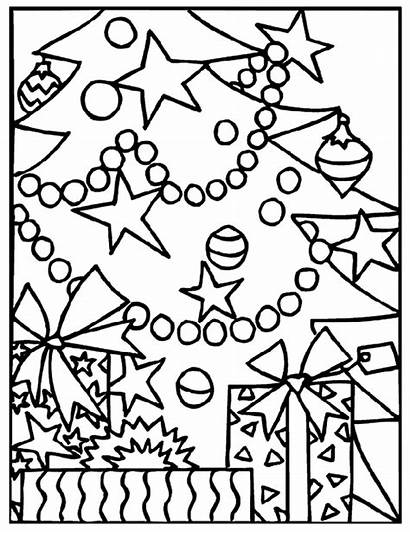 Coloring Crayola Christmas Pages Tree Under