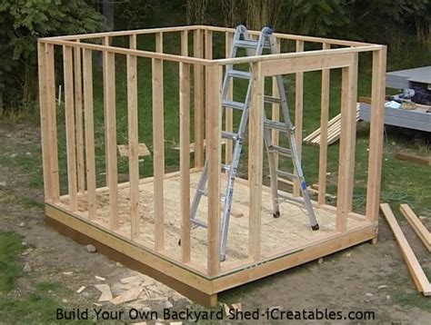 Step By Step Deck Building Instructions by How To Build A Shed Storage Shed Building Instructions