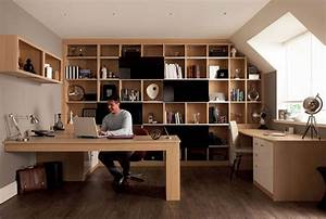 Tips for designing attractive and functional home office for Home office pics