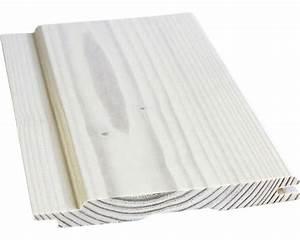 Holzlasur Weiß Innen : t fer softlineprofil fichte a weiss transparent 14x121x2350 mm kaufen bei ~ Udekor.club Haus und Dekorationen