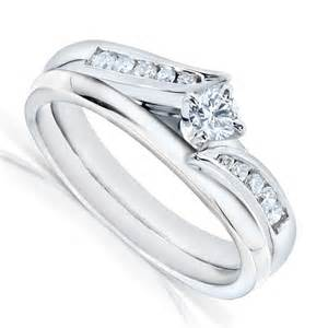 wedding ring white gold half carat wedding ring set in white gold on sale jewelocean