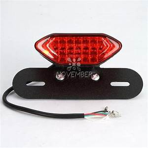 Motorcycle Street Bike Led Brake Running Turn Signal