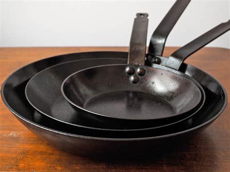 steel iron pans cast carbon pan vs pots non cookware gritzer daniel stick chef