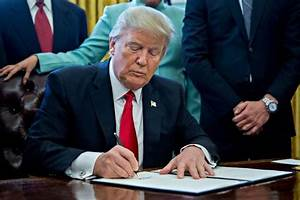 Donald Trump's Presidency So Far: The Seven Executive Orders