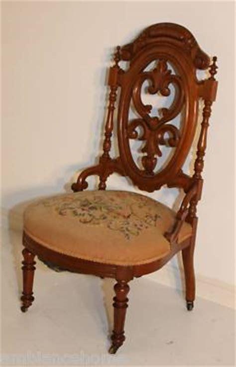 ambianceantiquesaolcom victorian slipper chair antique