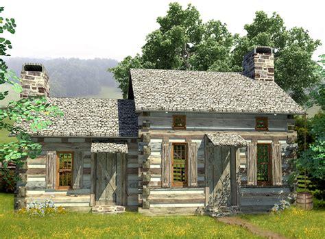 log cottage plans cozy log cabin 13330ww architectural designs house plans