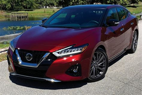 Nissan's Maxima is a conventional sedan outside of the ...