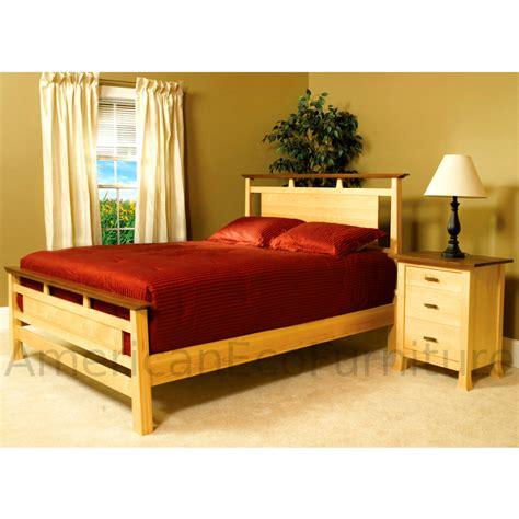 amish miyako bed usa  bedroom furniture american