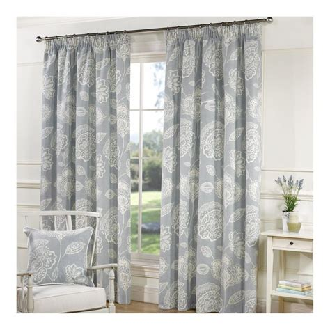 buy lizzy duck egg line curtains matching cushions