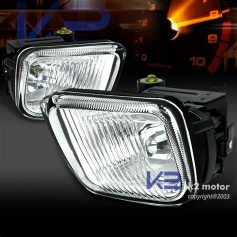 For Honda Civic Clear Bumper Fog Lights