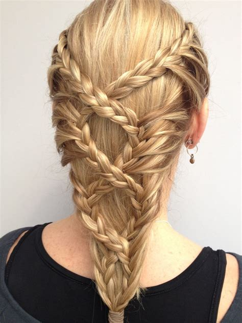 braided back hairstyle inspiration hairstyles hair