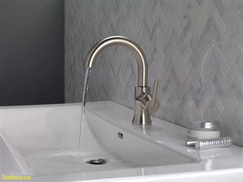 delta trinsic bathroom faucet beautiful delta sink faucets kitchenzo