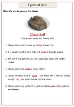 soil worksheets     smiley teacher teachers pay