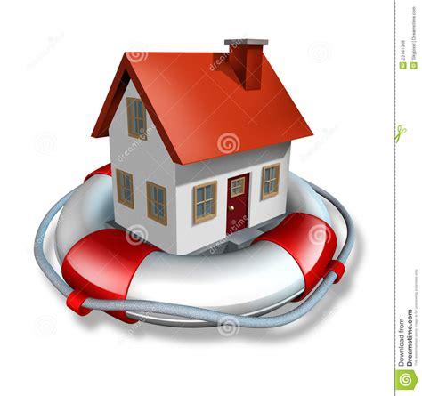 Hausversicherung Stock Abbildung Illustration Von Zinsen