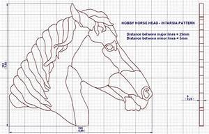 Wooden Stick Horse Head Pattern Plans DIY Free Download