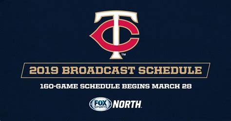 fox sports north announces  twins telecast schedule