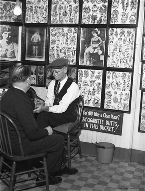 Harry V. Lawson Tattoos a Man, 1941 | San Diego Reader