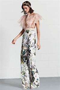 Outfit Für Hochzeitsgäste Damen : outfit fuer hochzeitsgaeste ruesche bluse hose hohe taille ~ Watch28wear.com Haus und Dekorationen