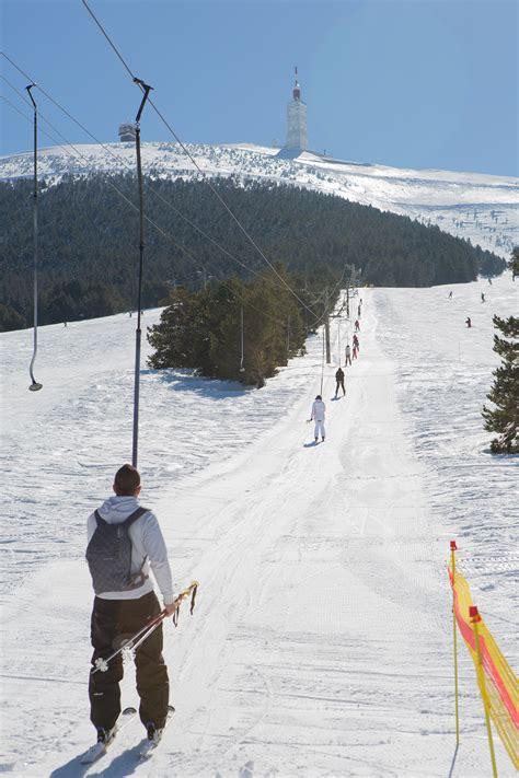 station de ski du mont ventoux au mont serein