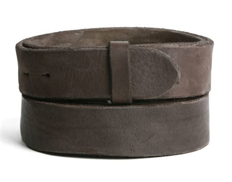 Cowhide Leather Belt by Leather Belt Newmarket Rustic Vintage Cowhide Ebay