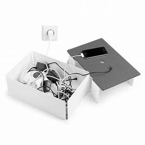 Kabel Verstecken Box : charge box kabelbox von konstantin slawinski design ~ Lizthompson.info Haus und Dekorationen