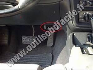 OBD2 connector location in Chevrolet Camaro 4 (1998 - 2002