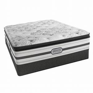 Beautyrest south haven queen size luxury firm pillow top for Best queen size firm mattress