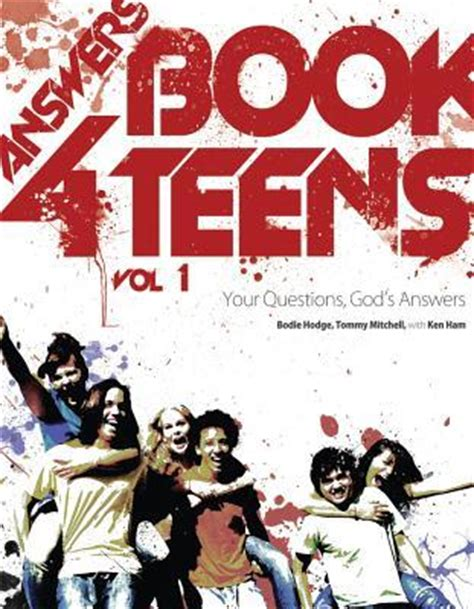 answers book  teens  questions gods answers