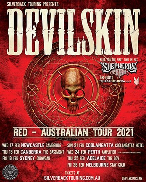 DEVILSKIN Announce February 2021 Australian Tour ...