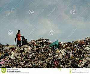Landfill In Thailand Editorial Image - Image: 40555245