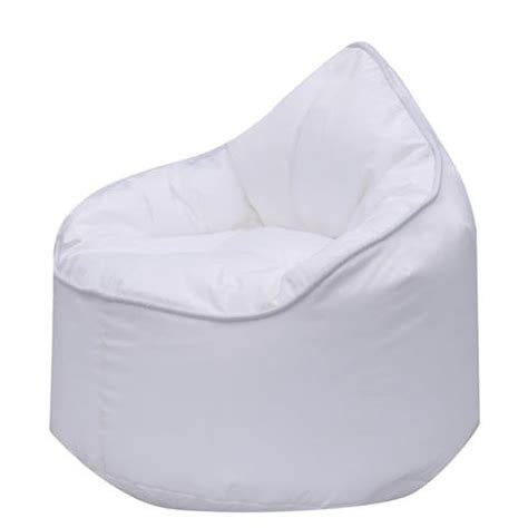 zen bean bag chair grey