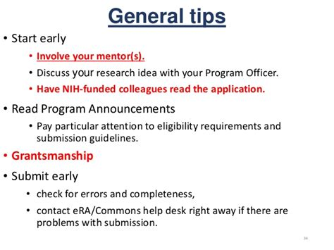 nih it help desk transitioning to independence tips for writing nih career