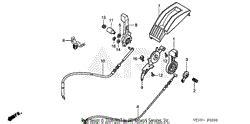 Honda Hrb Tda Lawn Mower Usa Vin Maea Parts