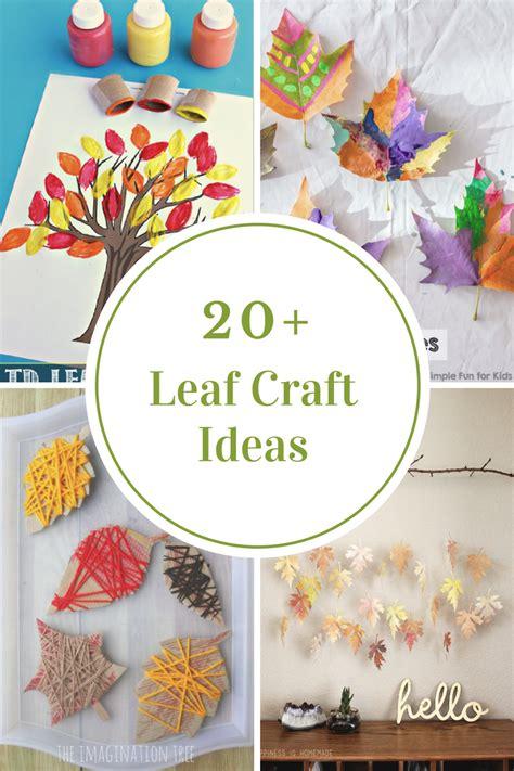 leaf crafts  kids  idea room