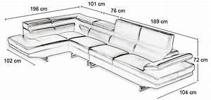 Canape d39angle sur mesure for Canape angle taille
