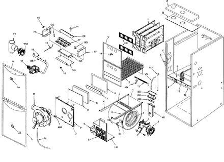 diagram goodman furnace parts diagram furnace parts