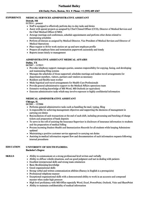 Resume Assistance by Administrative Healthcare Resume Sle Ipasphoto