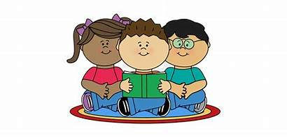 Reading Clipart Children Child Clip Center Books