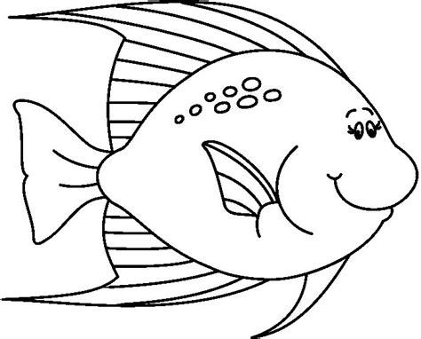 fish coloring pages for preschool preschool and kindergarten 854 | animals fish printable coloring for preschool