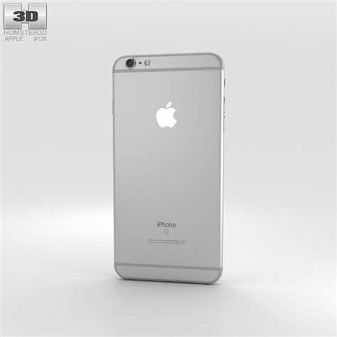 iphone 6s plus models apple iphone 6s plus silver 3d model hum3d