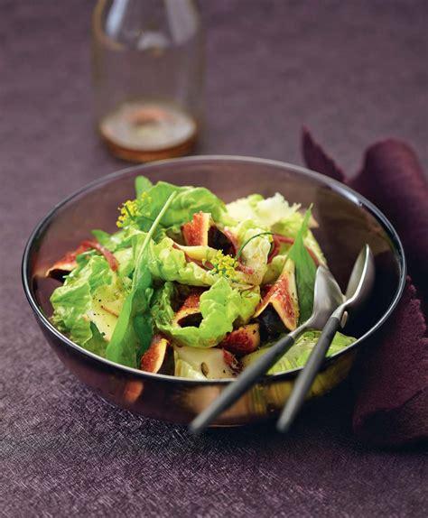 Entree Salade Magret De Canard by Recette Salade Aux Figues Magret Et Cantal