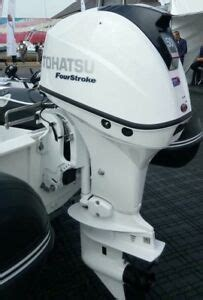 new tohatsu 50hp efi 4 stroke shaft power trim outboard in beluga white ebay