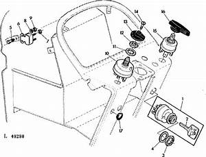 Deere Tractor Model 2950  Where Are The Fuses For The