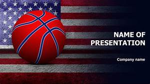 Miscrosoft Office 2010 Download Free American Basketball Powerpoint Template For
