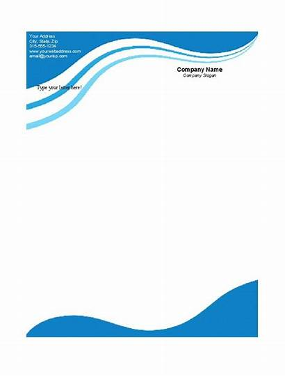 Letterhead Templates Examples Template Business Company Blank
