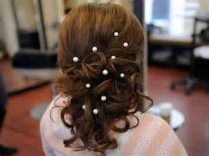 bridesmaid hair accessories artur style pair of single pearl hair pins