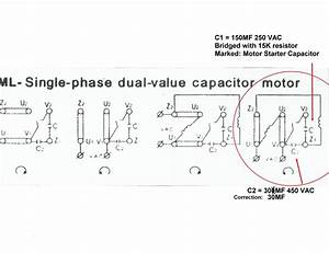 Beautiful 6 Lead Single Phase Motor Wiring Diagram  With