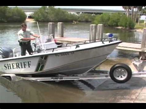 Aluminum Float On Boat Trailers by Float On Boat Trailers