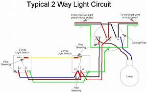 2 Way Wire Diagram Wiring Diagram Three Gang Light Switch