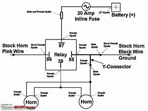 30 Amp Relay Diagram Horn